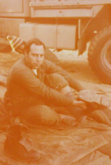 סרן אמנון ארז בשנות ה-60