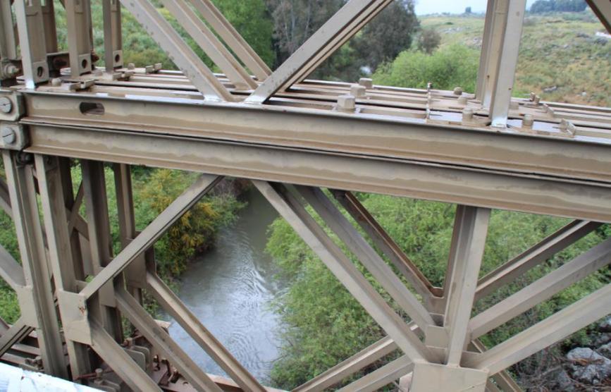 גשר בנות יעקב מעל הנהר