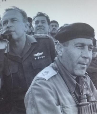 """טליק, דדו ורבין בארפיל 1967 [צילום: במחנה / ארכיון צה""""ל]"""