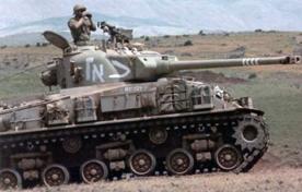 """שרמן M-50 בצה""""ל בשנות ה-60"""