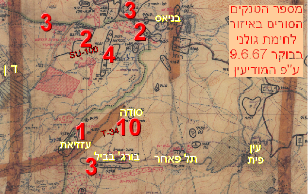 מפת הטנקים
