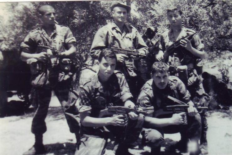 צוות מס' 1 בסוללה ג' בגדוד 334