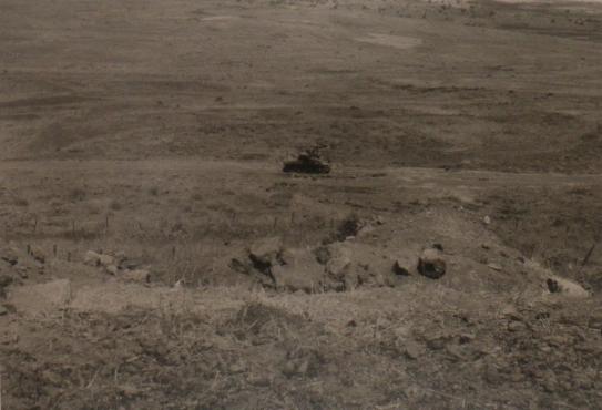 טנק החוד לאחר הקרב על הדרך האוגפת