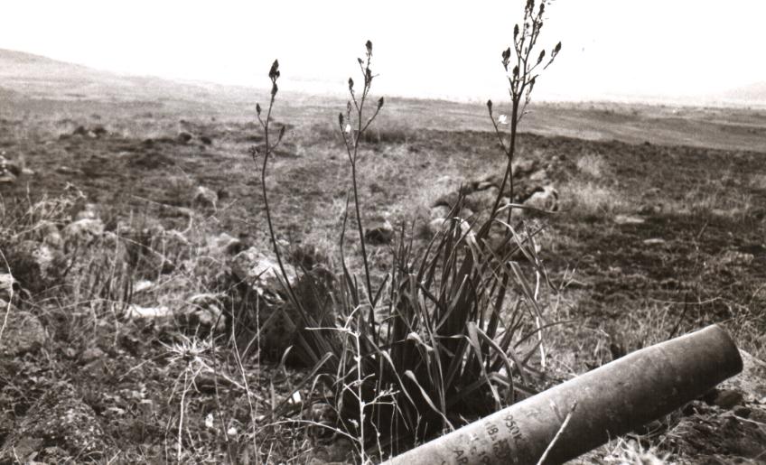 תרמיל פגז טנק בשטח, 1967