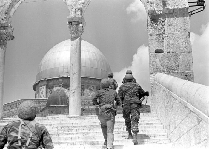 Image result for מלחמת ששת הימים הר הבית